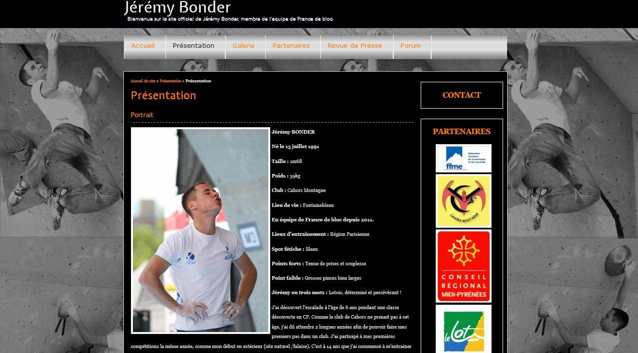 site de Jérémy